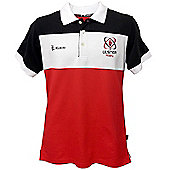 Kukri Ulster Rugby Mens Cotton Polo 15/16 - Red