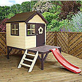 Tower + Slide Playhouse 4ft x 4ft