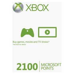 XBox Points Card