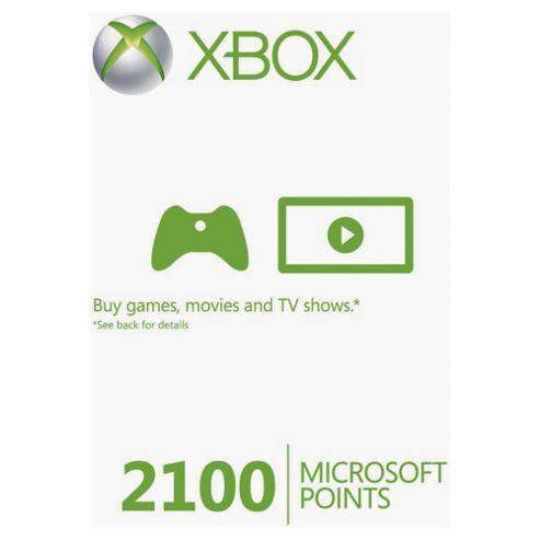 Xbox Live - 2100 Microsoft Points.