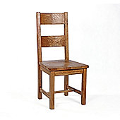 Wiseaction Florence Dining Chair with Timber Seat ( Set of 2) (Set of 2)