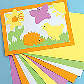 A4 Bright Coloured Card (220gsm) (Pack of 50)