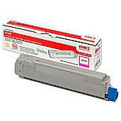 OKI Toner Cartridge for C8600 Colour Printers (Magenta)