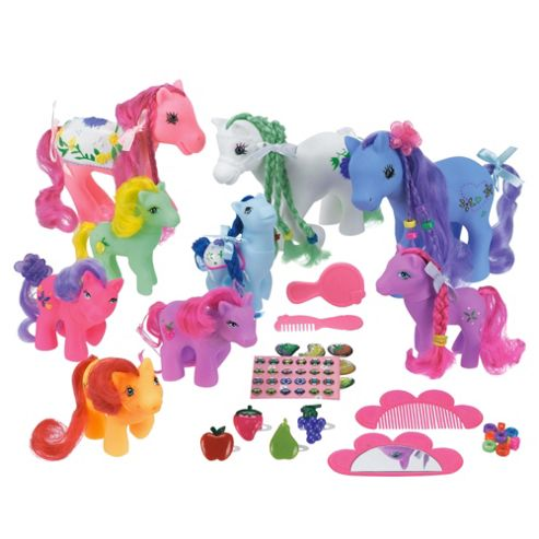 Sparkle N Glitz Pretty Pony Family