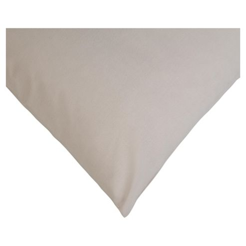 Tesco 100% Cotton Pillowcase, Cappuccino
