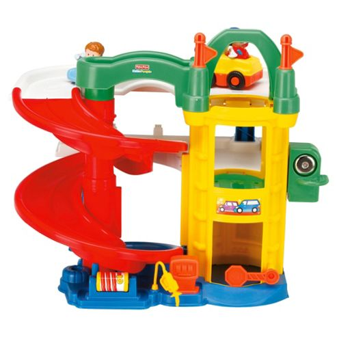 Buy fisher price little people racin 39 ramps garage from - Fisher price little people racin ramps garage ...