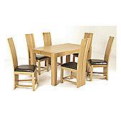 Elements Eton Oak Dining Table