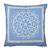 Dreams n Drapes Shantar China Blue Cushion Cover - 43x43cm