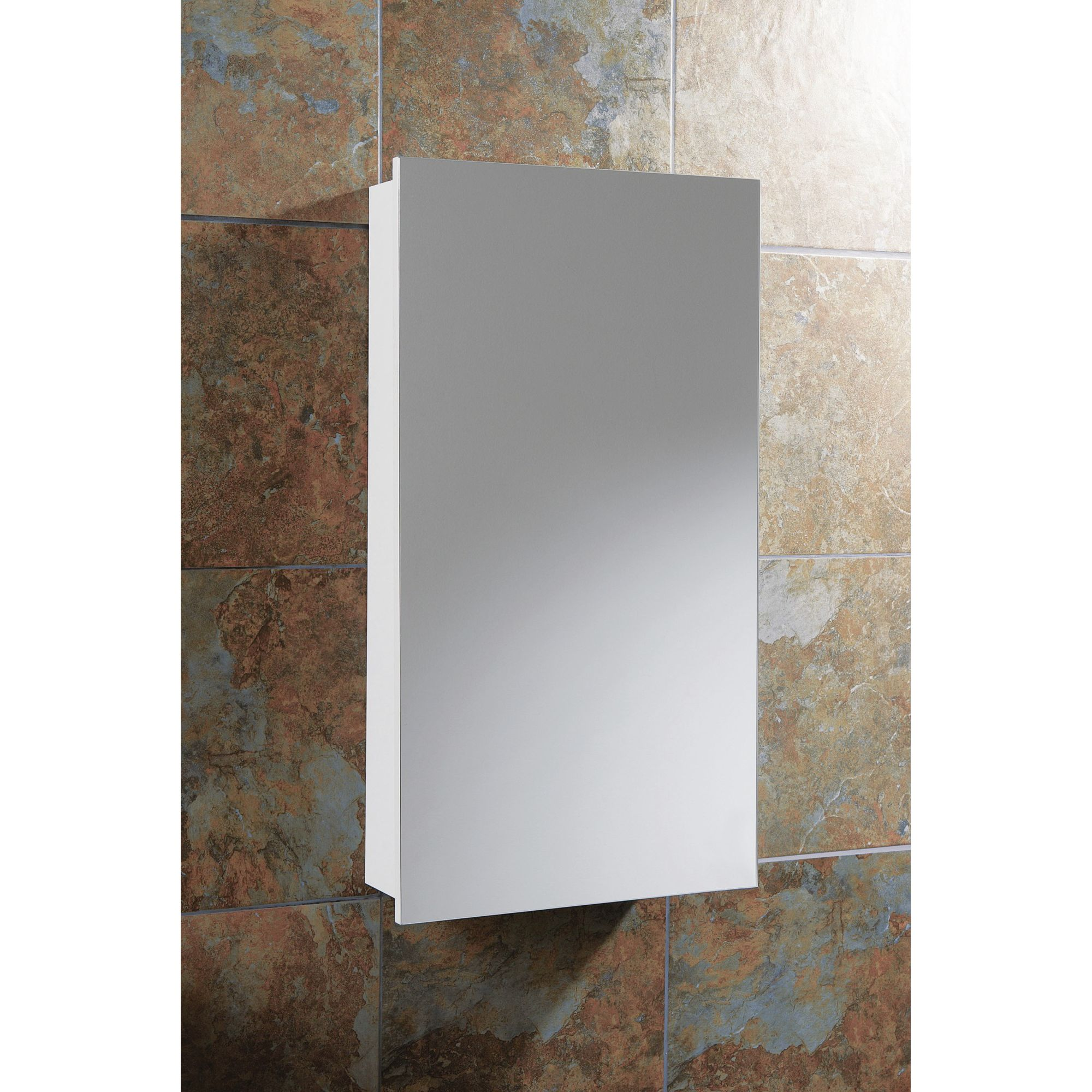 HIB Denia / Sorrento Small Bathroom Mirror Cabinet at Tesco Direct