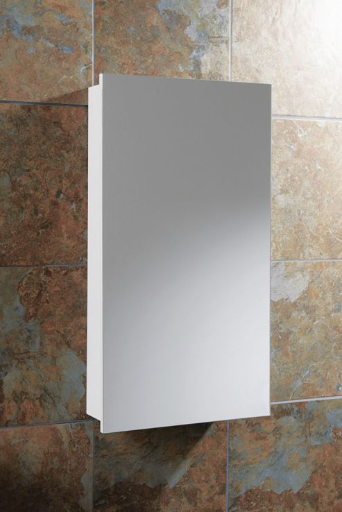 HIB Denia / Sorrento Small Bathroom Mirror Cabinet