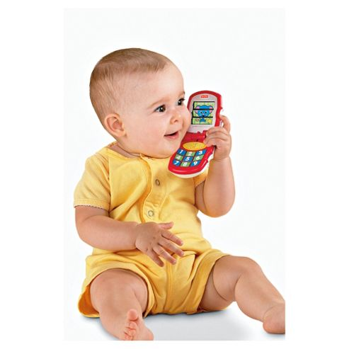Fisher-Price Brilliant Basics Friendly Flip Phone