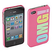 Trendz iPhone 4/4S Hard Case OMG!
