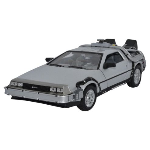Back To The Future Delorean Time Machine 1:24 Scale Diecast Model