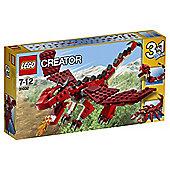 LEGO Creator Red Creatures 31032