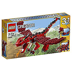 LEGO Creator Red Creatures 31032