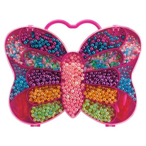 Sparkle & Glitz Butterfly Bead, Jewellery Craft Kit