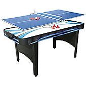 Mightymast Typhoon 2-in-1 Air Hockey & Table Tennis Game
