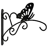 "Tesco 12"" Butterfly Design Hanging Basket Bracket"