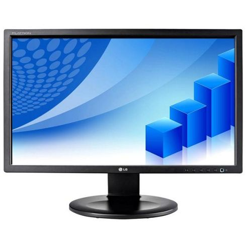 LG Flatron E2210P-BN 22 inch LED LCD Monitor 5,000,000:1 (DCR) 250cd/m2 1680x1050 5ms DVI-D/VGA (Black)