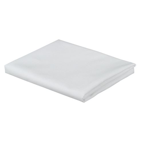 Tesco 100% Cotton Pillowcase, White