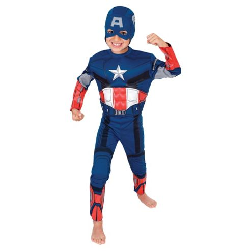 Rubies EVA Muscle Chest Captain America- M