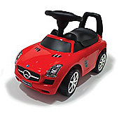 Ride On Push Along Mercedes Red