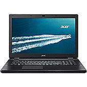 Acer TravelMate P276 Intel Core i5-4210U Dual Core Processor 17.3 HD+ Screen Microsoft Windows 8.1 64-bit 4GB DDR3 RAM 500GB HDD DVD Rewriter Laptop