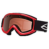 Smith Optics Cascade Air Ski Goggle Black/Rose