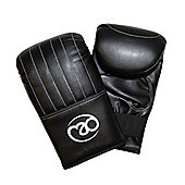 Boxing Mad Punch Bag Mitts - Black
