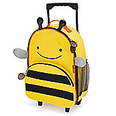 Skip Hop Zoo Luggage Trolley Case - Bee