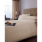 Hotel Collection 500 TC Single Fitted Sheet Pair Cream