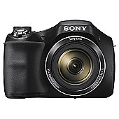 "Sony H300 Digital Bridge Camera, Black, 20.1 MP, 35x Optical Zoom, 3.0"" LCD Screen"