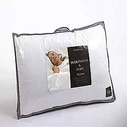 Duck Feather & Down Pillows - Pair