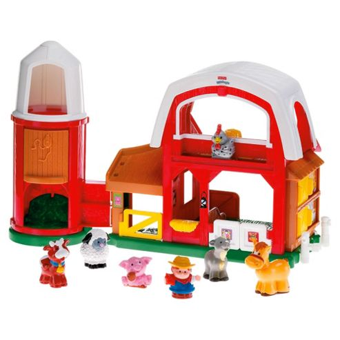 Fisher-Price World Of Little People Animal Sounds Farm