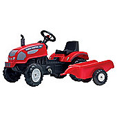 New Falk Farm Master Tractor And Trailer Ride on