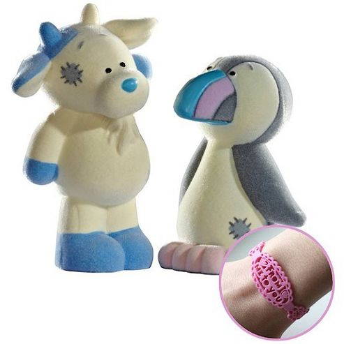 Tatty Teddy and My Blue Nose Friends Figures 2 Pack - Zee Zee the Goat and Rainbow the Puffin