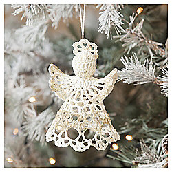 Crochet Angel Christmas Tree Decoration