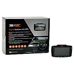 "RAC 02 CarCam Dashboard Camera, Full 1080p HD, 2.7"" LCD Screen"