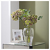 Tesco glass barrel bubble vase