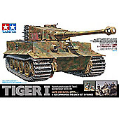 Tamiya 25401 German Tiger I Late With Commander & Crew Set 1:35 Tank Model Kit