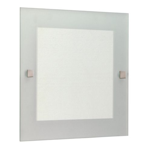 Lincoln Square Mirror With Frosted Edge