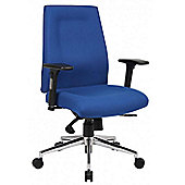Office Basics Mode Mid-Back Task Chair - Blue