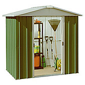 Yardmaster 6'1x6'9 Metal Apex Shed