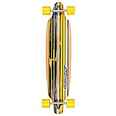 """39"""" TWIN TIP LONGBOARD: YELLOW """