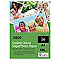 Tesco Quality glossy inkjet A4 Photo Paper - 50 Sheets