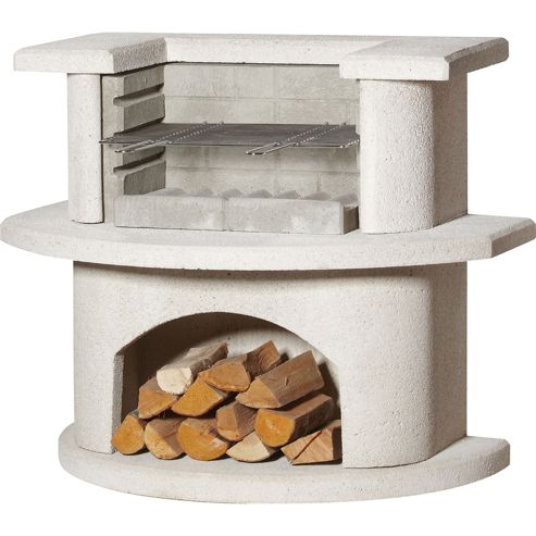 Buschbeck Venedig Grillbar Masonry Barbecue Outdoor Fireplace