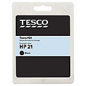 Tesco H170 Black Printer Ink Cartridge (Compatible with printers using HP 21 Cartridge)