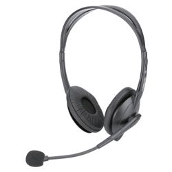 Technika TKH109 Stereo 3.5mm Overhead PC Headset & Microphone
