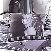 Catherine Lansfield Home Photographica Marilyn Monroe Multi Coloured Cushion Cover