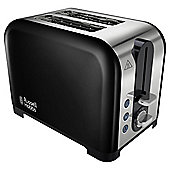 Russell Hobbs  22392 Canterbury 2 Slice Black Toaster